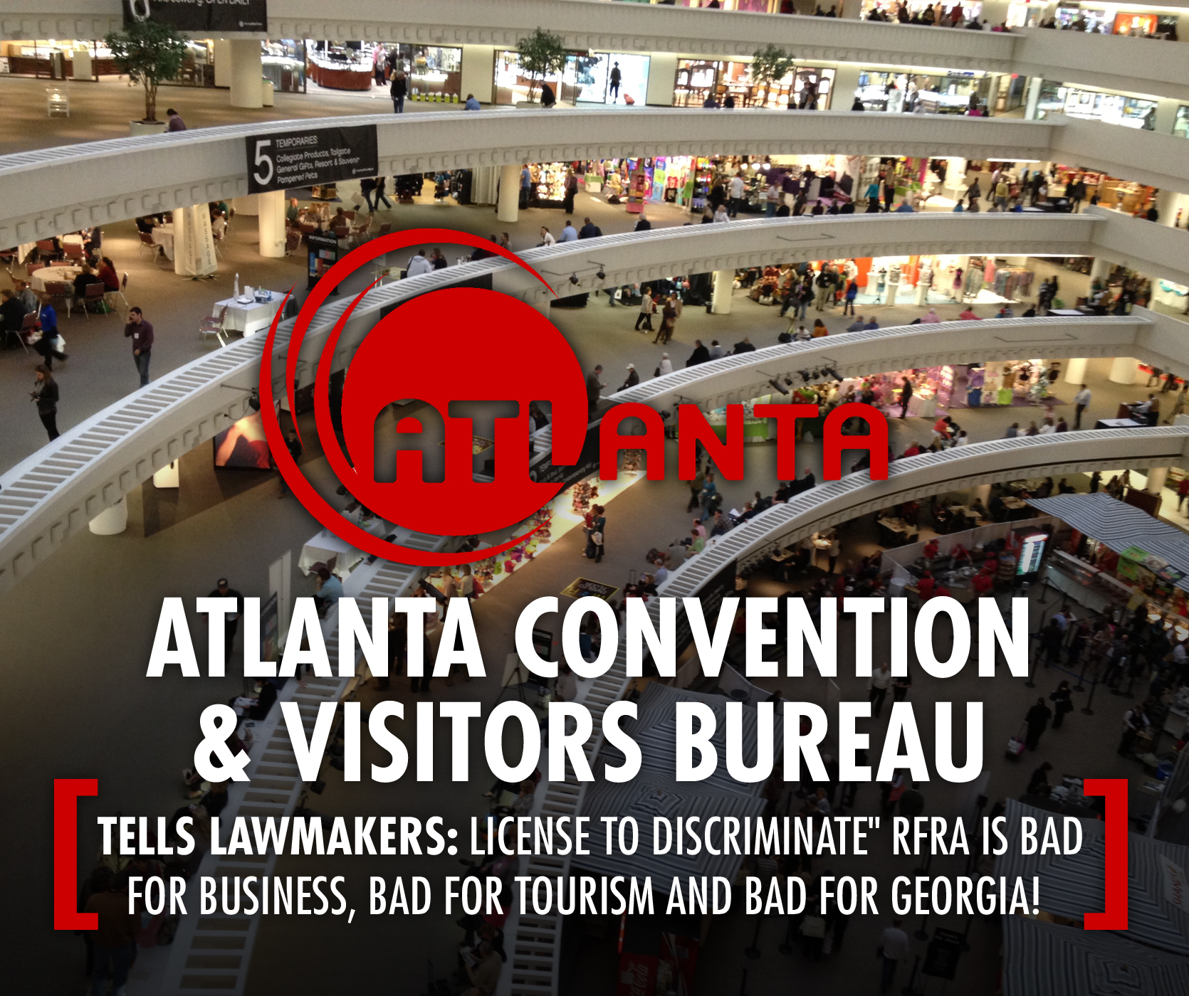atlanta convention visitors bureau rfra is bad for. Black Bedroom Furniture Sets. Home Design Ideas