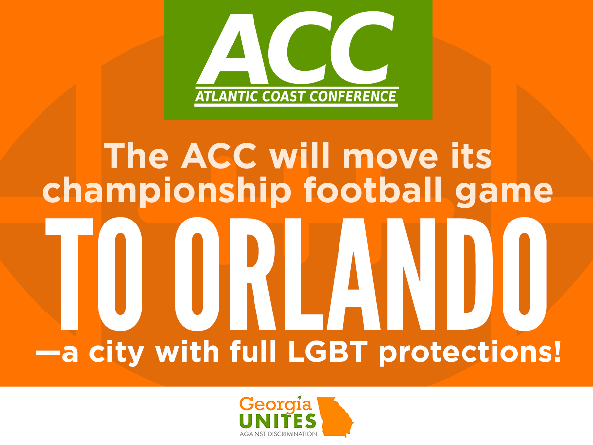 Local LGBT Non-discrimination Protections Give Orlando Competitive Edge As New Host of ACC Championship