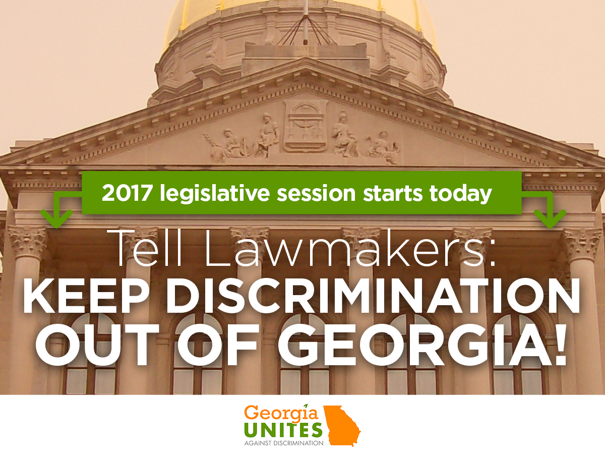 As the Georgia Legislature Reconvenes, The Future of LGBT Rights Remains Unknown