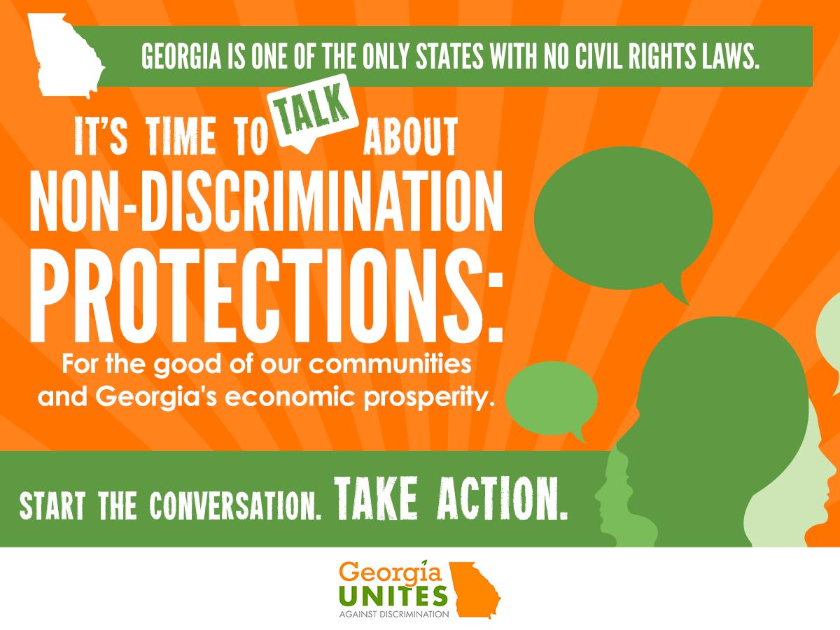 GA Unites Against Discrimination Unveils New Report Detailing the Economic & Legal Case For Civil Rights Protections