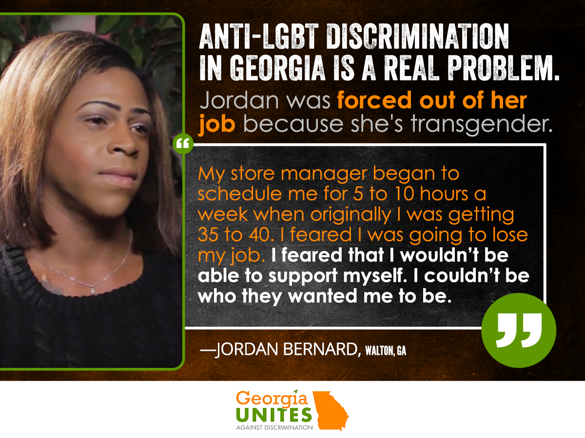 Jordan Bernard: I Was Forced Out of My Job for Being Transgender, And There Were No Laws To Protect Me