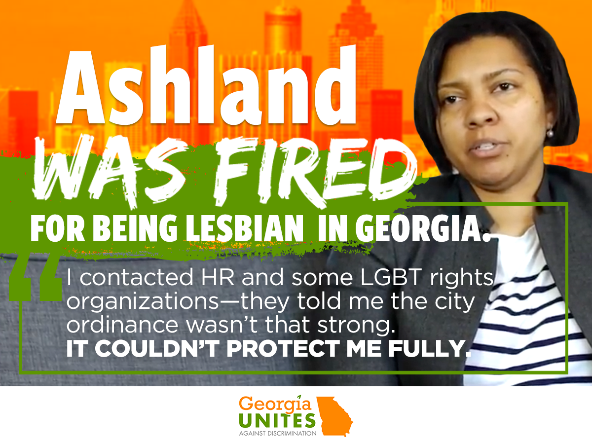 Ashland Johnson: I Loved My First Job Out of College—Until I Was Fired for Being for Being A Lesbian