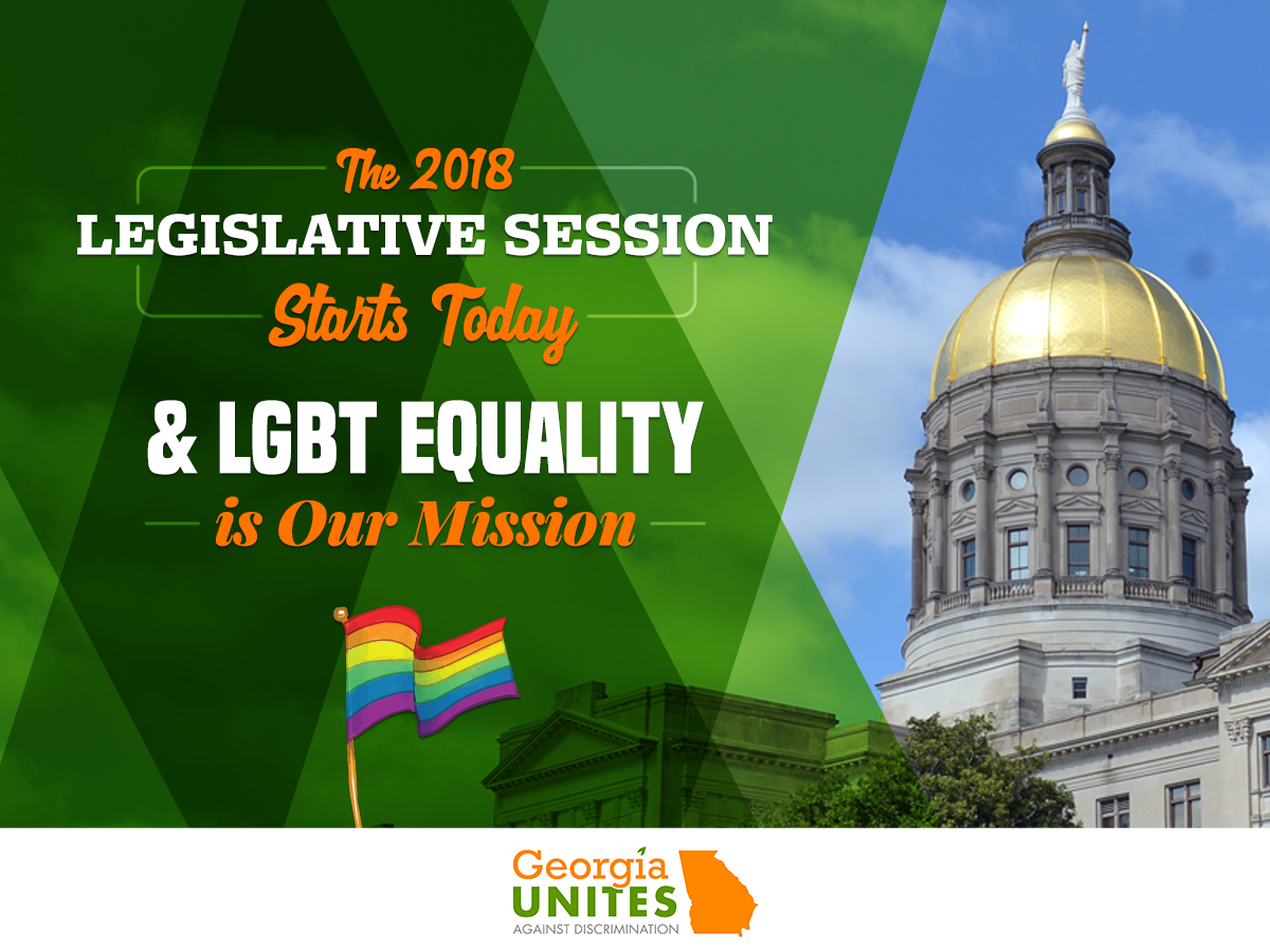 Start of Georgia Session Brings Opportunity for Pro-LGBT Wins in the Legislature