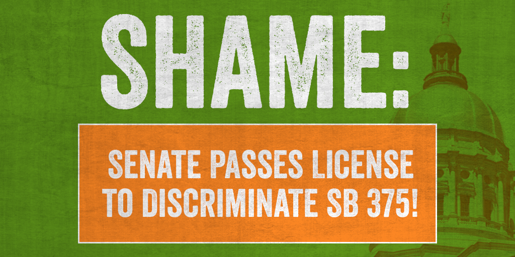 BREAKING: Senate Passes SB 375 Targeting LGBT Foster Children and Same-Sex Adoptive Couples for Discrimination