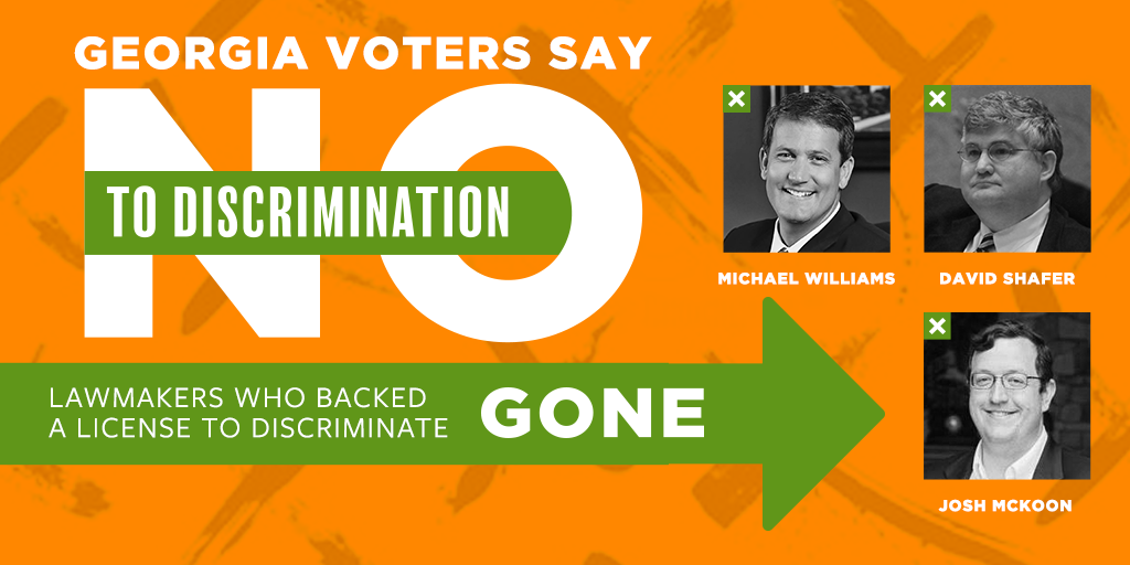 Election Breakdown: RFRA-Backers Lose Big + New LGBT Members