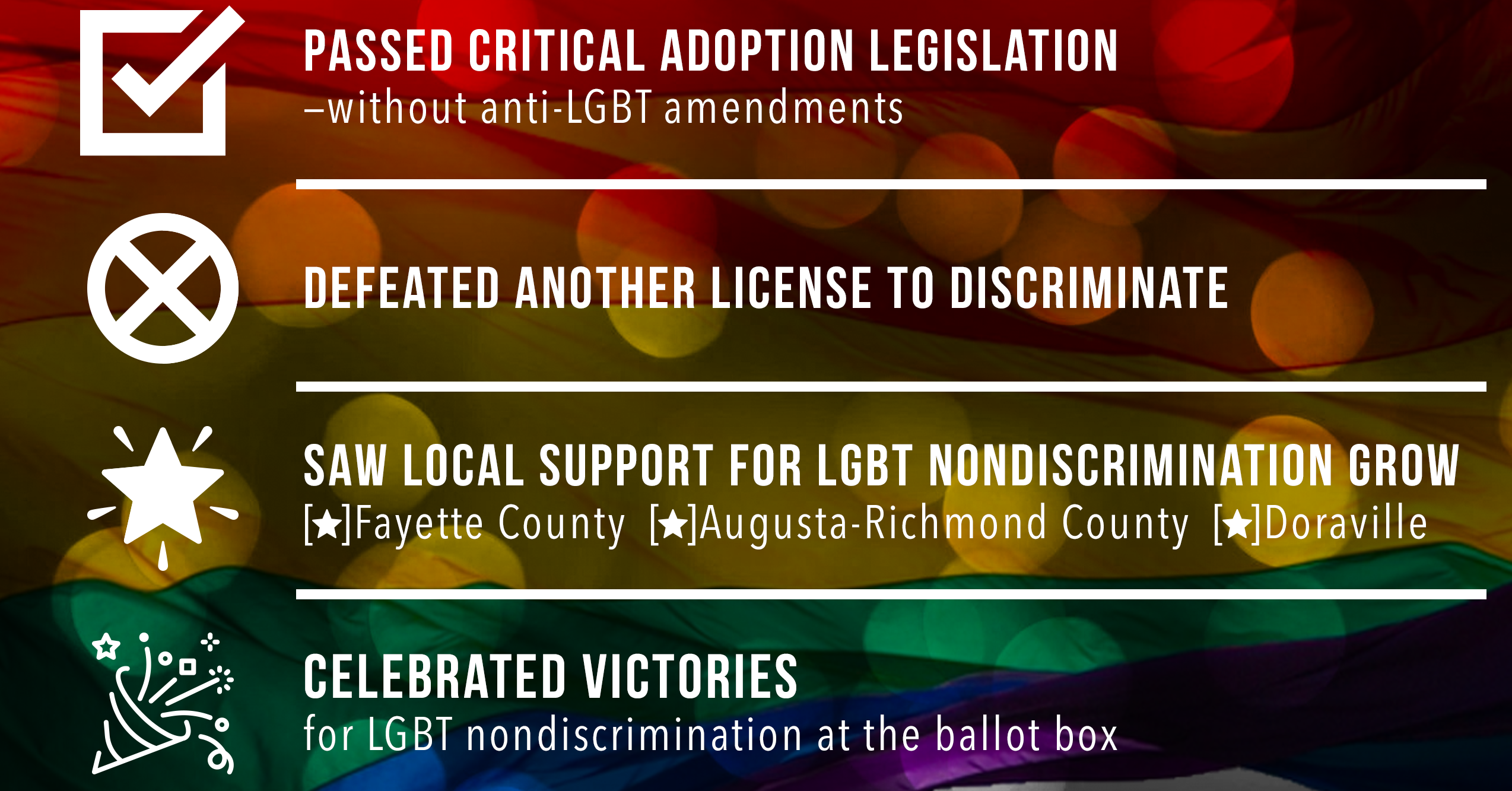 4 Things You Should Know About Georgia's Fight for LGBTQ Equality in 2018